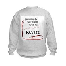 Kuvasz Travel Leash Sweatshirt