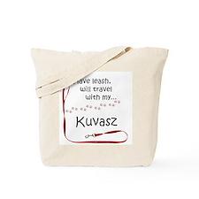 Kuvasz Travel Leash Tote Bag