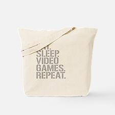 Eat Sleep Video Games Repeat Tote Bag