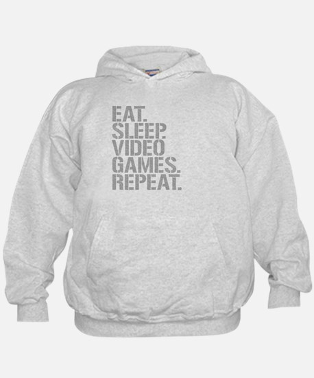 Eat Sleep Video Games Repeat Hoodie