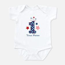 Firecracker 1st Birthday Infant Bodysuit