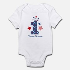 Firecracker 1st Birthday Onesie