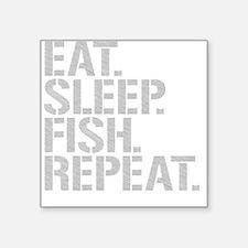 Eat Sleep Fish Repeat Sticker