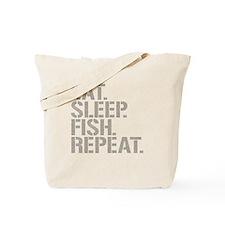 Eat Sleep Fish Repeat Tote Bag