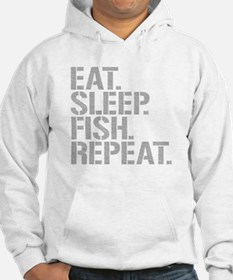 Eat Sleep Fish Repeat Hoodie