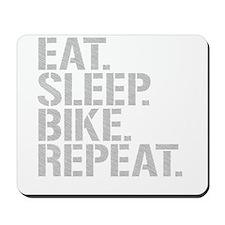 Eat Sleep Bike Repeat Mousepad