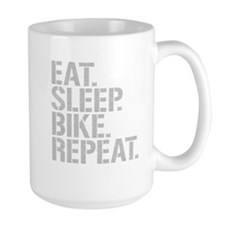 Eat Sleep Bike Repeat Mugs