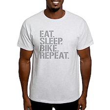Eat Sleep Bike Repeat T-Shirt