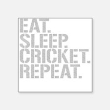 Eat Sleep Cricket Repeat Sticker