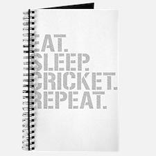 Eat Sleep Cricket Repeat Journal
