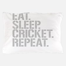 Eat Sleep Cricket Repeat Pillow Case