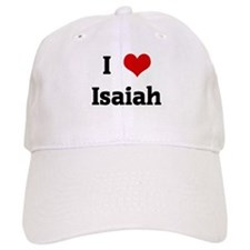 I Love Isaiah Baseball Cap
