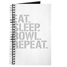 Eat Sleep Bowl Repeat Journal