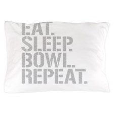 Eat Sleep Bowl Repeat Pillow Case