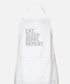 Eat Sleep Bowl Repeat Apron