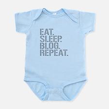 Eat Sleep Blog Repeat Body Suit