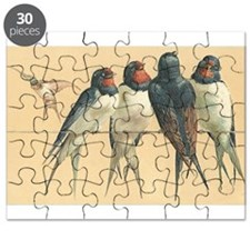 Birds-on-a-wire Puzzle