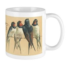 Birds-on-a-wire Mugs