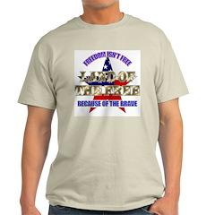 Land of the Free Ash Grey T-Shirt