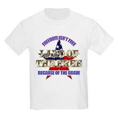 Land of the Free Kids T-Shirt