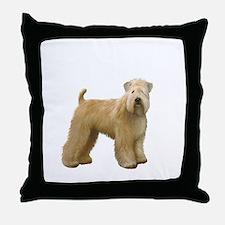 Wheaten T (stand) Throw Pillow