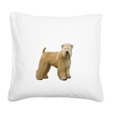 Wheaten T (stand) Square Canvas Pillow