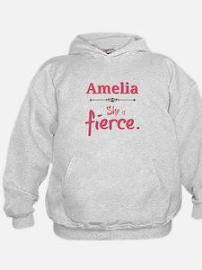 Amelia is fierce Hoodie
