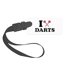 I love Darts Luggage Tag