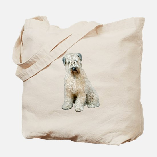 Wheaten (sit) Tote Bag