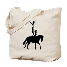 Vaulting dressage Tote Bag