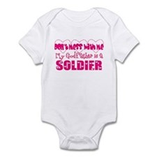 My Godfather is a Soldier Infant Bodysuit