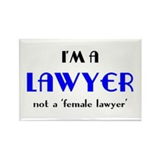 just a lawyer Rectangle Magnet