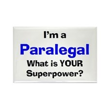 i'm a paralegal Rectangle Magnet