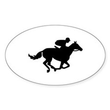 Horse race racing Decal