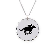 Horse race racing Necklace