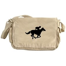 Horse race racing Messenger Bag