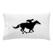 Horse race racing Pillow Case