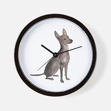 Xoloitzcuintle (B) Wall Clock