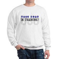 NAVY Wife in training! Sweatshirt