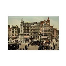 Vintage photo of Amsterdam Rectangle Magnet