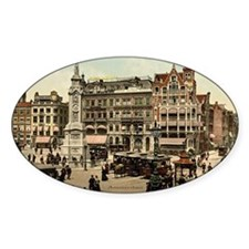Vintage photo of Amsterdam Decal