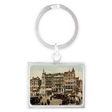 Vintage photo of Amsterdam Landscape Keychain