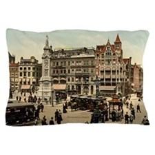 Vintage photo of Amsterdam Pillow Case