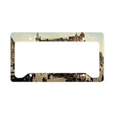 Vintage photo of Amsterdam License Plate Holder