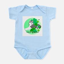 Siberian Husky Infant Bodysuit