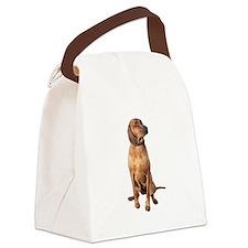 Red Bone Coon Hound Canvas Lunch Bag