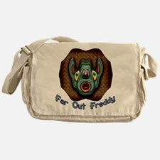 Far Out Freddy Messenger Bag