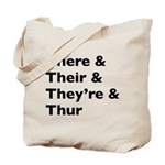 Funny Play on words Tote Bag