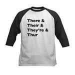 Funny Play on words Baseball Jersey