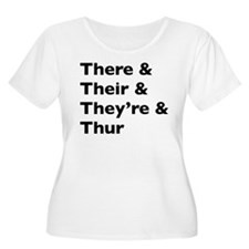 Funny Play on words Plus Size T-Shirt